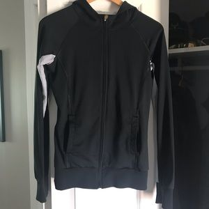 Roxy Athletix Zip Up Hooded Athletic Jacket